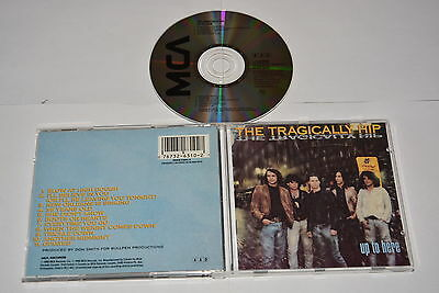 Tragically Hip - Up To Here - Music Cd Release Year:1989