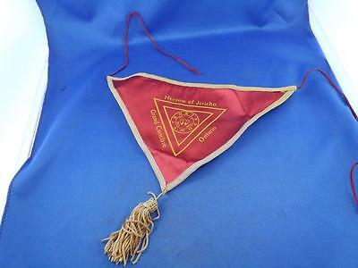 Heroine Of Jericho Grand Conclave Ontario Banner Badge Tassle Masonic Scarf