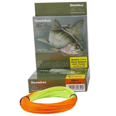 Snowbee XS-Plus XS-tra Distance Fly Lines Floating, Intermediate & Fast Sinking