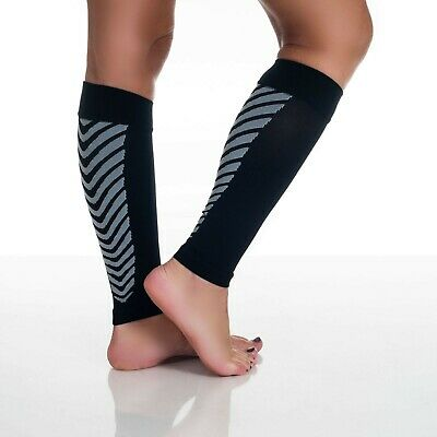 Pair of Calf Running Compression Sleeve Socks Colors and Sizes