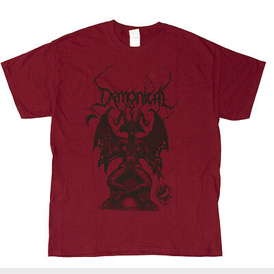 DEMONICAL - Dominium Mundi - Tourshirt 2014 - DARK RED