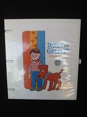Davey and Goliath 2002 Style Guide Super rare Plus Extras