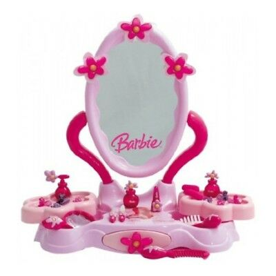 Theo Klein 5345 Barbie Beauty studio Beautycenter with mirror and Cosmetics