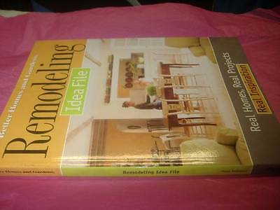 2002 BETTER HOME & GARDEN REMODELING IDEA PROJECT Interior Decorating Decor Book