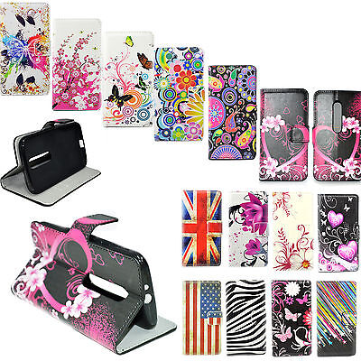 Stand Flip Wallet Leather Soft Case Cover For Motorola Moto G 3rd Gen Generation