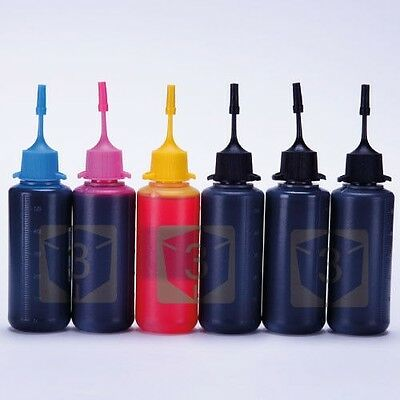 6 x 50ml Top Premium INK FOR Canon Refillable Cartridges MG7750 MG7751 MG7752