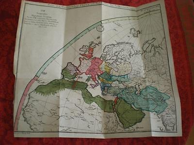 1805 - MAP OF MEDITERRANEAN - Ancient Migration - DE