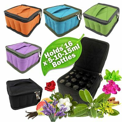 Aromatherapy / Essential Oil Carry ~ Travel ~ Storage Case / Bag ~ Free Gift