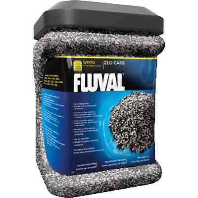 Fluval Zeo Carbon 1200g With Bag Aquarium Fish Tank Filter Media Ammonia Remover