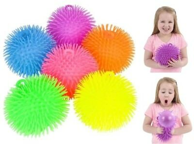 (1) 9 Inch Large Jumbo Puffer Balls Stress Ball for Kids Tactile Fidget Toy