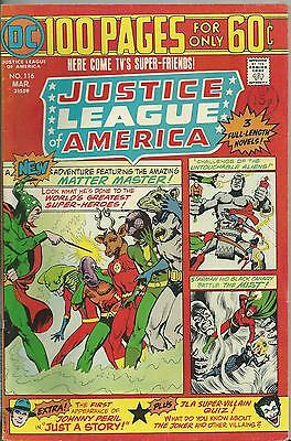 Justice League Of America #116 (1975) Fn/+ (6.0/6.5) 100 Pages