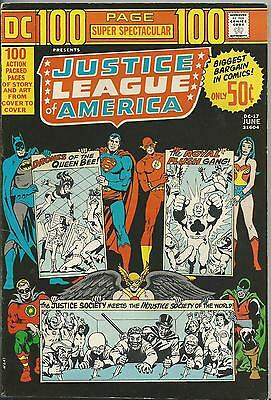 Dc 100 Page Super Spectacular #17 (1973) F/vf (7.0) Justice League Of America