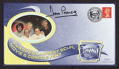 Original Signed Fdc Dave Prowse Darth Vader Of Star Wars Postal Cover Multicon