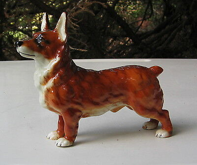 Vintage Welsh Corgi Standing Figurine Goebel Germany
