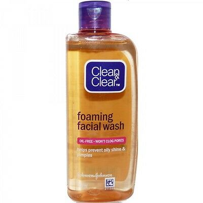 Clean & Clear Fairness Face Wash - Oil Free Acne Care Glowing Sensitive Skin