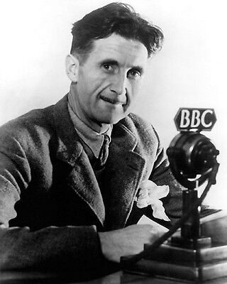 George Orwell Portrait 8X10 Photo 1984 Author