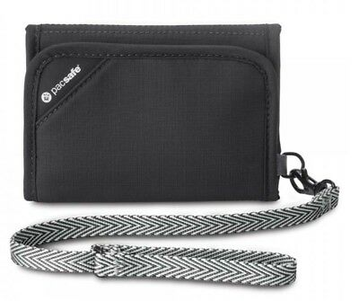 Pacsafe RFIDSAFE V125 Anti-theft Travel wallet - Black