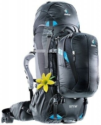 Deuter Quantum 60+10L Womens Hybrid Travel Rucksack and Daypack - Black