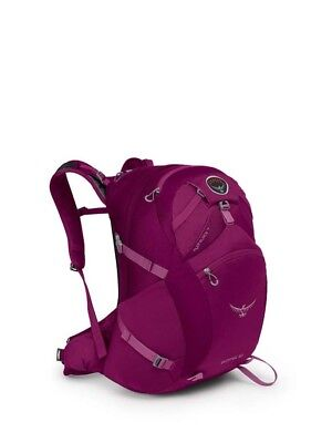 Osprey Skimmer 30L Womens Hydration Backpack with 2.5L Bladder - S/M - Plume Pur
