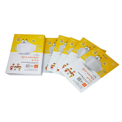 THE H ONE Korea Masks 5ea/KF94 Approved Particulat Haze Dust  Masks For Children