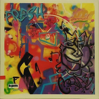 Kpm Music Fresh And Crazy' Uk Lp Kpm 1379