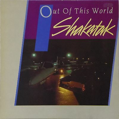 Shakatak 'out Of This World' Uk Lp