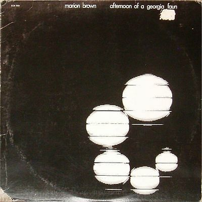 Marion Brown 'afternoon Of Georgia Faun' Us Import Lp