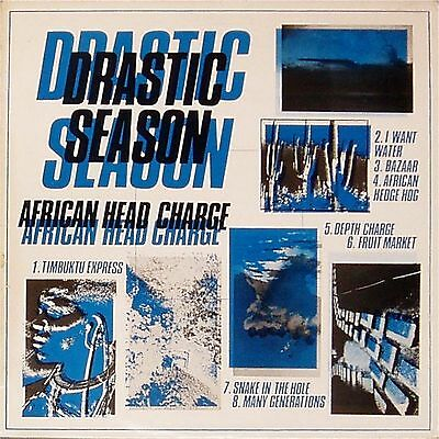 African Head Charge 'drastic Season' French Import Lp On-U-Sound