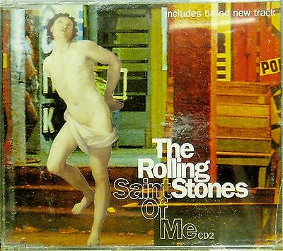 The Rolling Stones 'saint Of Me' 3-Track Cd Single