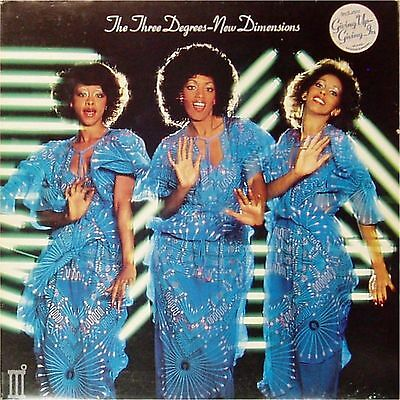 The Three Degrees 'new Dimensions' Uk Lp