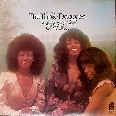 The Three Degrees 'take Good Care Of Yourself' Uk Lp