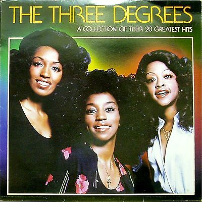 The Three Degrees 'a Collection Of Their 20 Greatest Hits' Uk Lp