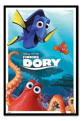 Framed Finding Dory Disney Pixar Characters Film Movie Poster New