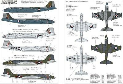 Xtradecal 1/48 BAC/EE Canberra B.2 Part 1 # 48053