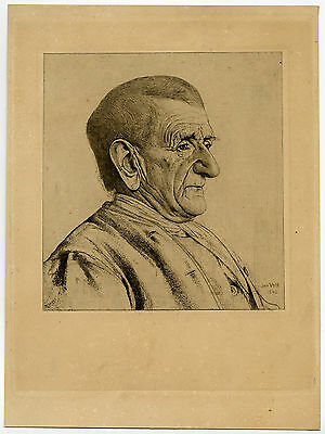 Antique Print-PORTRAIT-JAN SCHAEP-NEUS-NOSE-Veth-1892