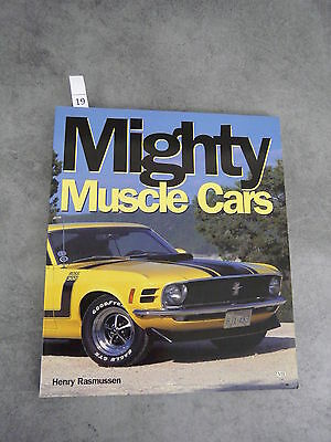 Rassmunsen Henry Mighty Muscle cars Camaro Mustang Automobile
