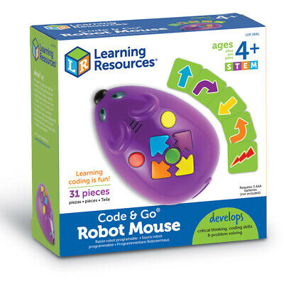 Learning Resources STEM Programmable Robot Mouse NEW