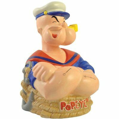 Popeye Ceramic Bank, 8-1/2-Inch by Westland Giftware