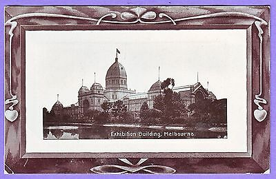 Australia Exhibition Buildings Melbourne Postcard