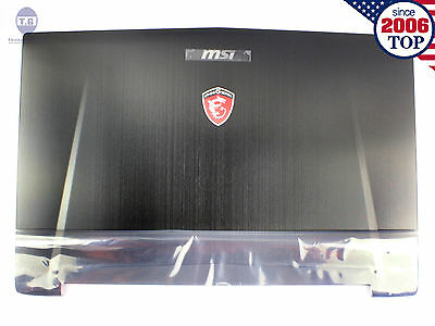 NEW MSI GT72 GT72S 1781 1782 LCD Back Cover 307-781A415-Y311 307781A417Y31 Black