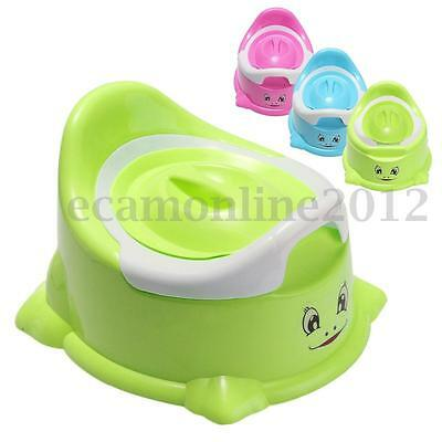 Portable Cartoon Potty Toilet Chair Seat Baby Toddler Child Boy Girl Training