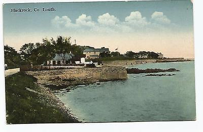irish postcard ireland louth blackrock village