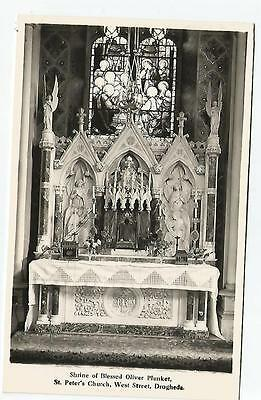 irish postcard ireland louth oliver plunket shrine drogheda