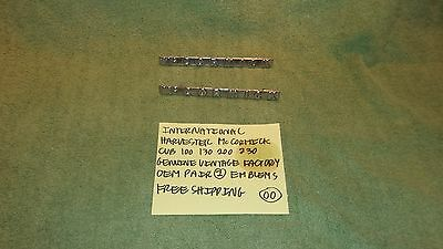 International Harvester Mccormick Cub 100 130 200 230 Genuine Vintage 2 Emblems