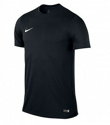 Nike Herren Fitness Freizeit Training Fussball T-Shirt PARK VI Dri-Fit Schwarz