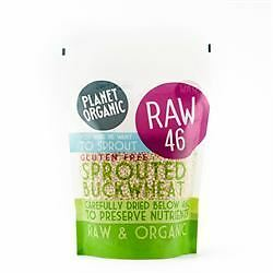 Planet Organic Sprouted Buckwheat 400 g