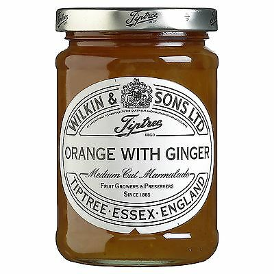 Wilkin & Sons Ltd Tiptree Orange with Ginger Medium Cut Marmalade 340g