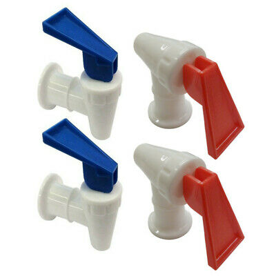Water Cooler Faucet for Sunbeam Hot and Cold, RED and BLUE Combo Pack of 4