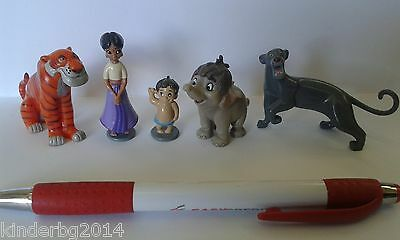 Complete collectible figures toys set JUNGLE BOOK 2 Panini / Hasbro 2002