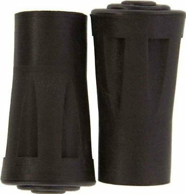 "2pc 5/8"" Dia Metal Reinforced Rubber Tips For Walking Sticks WS-2XTIP US SHIPPER"